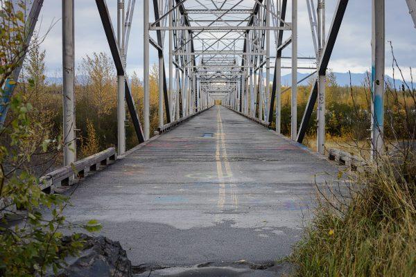 a foot bridge