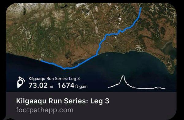 Kilgaaqu Run Series, Nome-Council Highway, Leg 3, photo courtesy of Carol Seppilu
