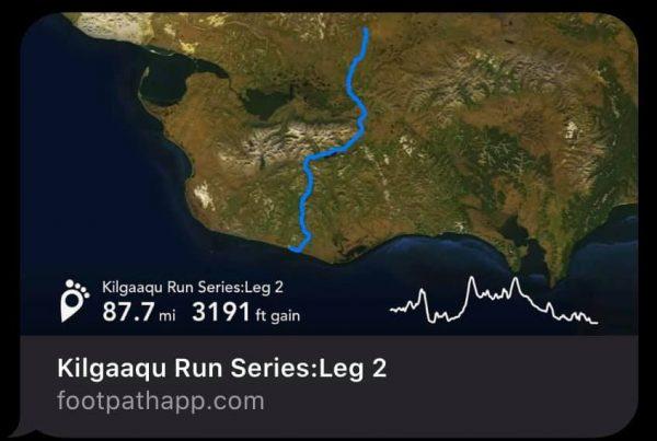 Kilgaaqu Run Series, Nome-Taylor Highway, Leg 2, photo courtesy Carol Seppilu