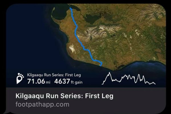 Kilgaaqu Run Series, Nome-Teller Highway, Leg 1, photo courtesy Carol Seppilu