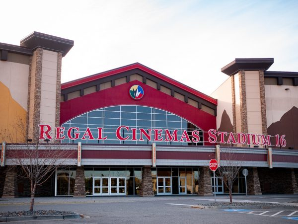 A Regal Cinemas movie theater in East Anchorage.