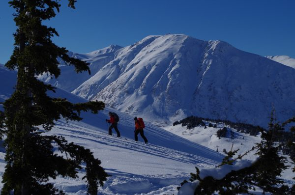 skiing Turnagain Pass
