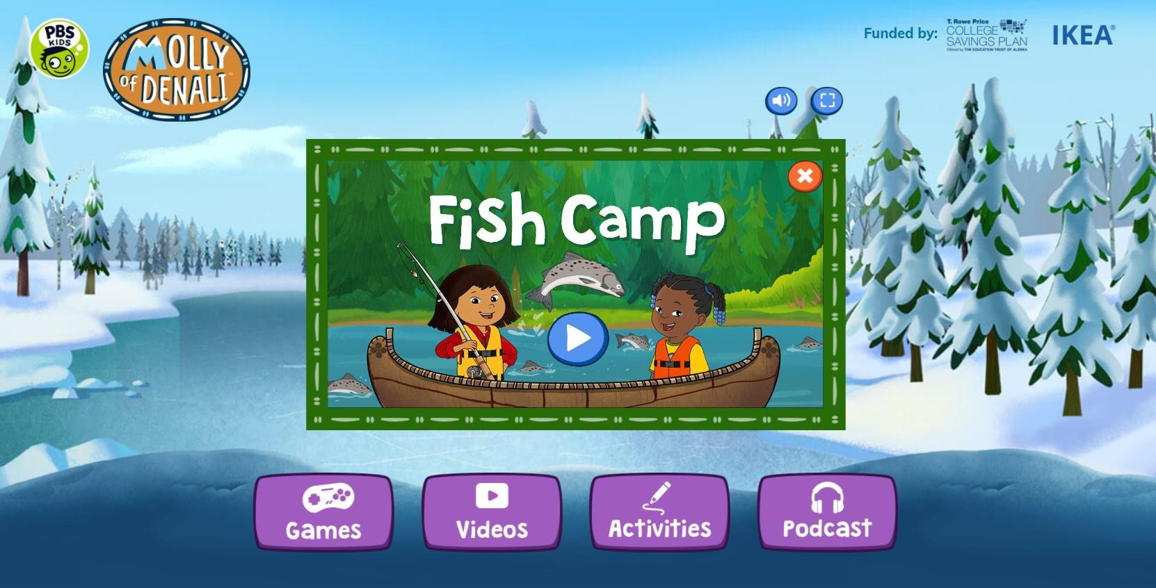 molly fish camp
