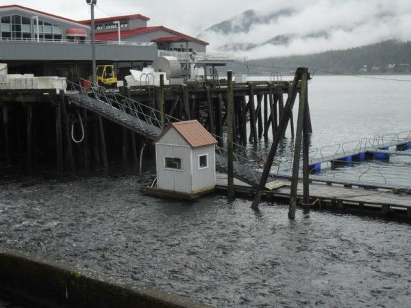 A facility at a dock