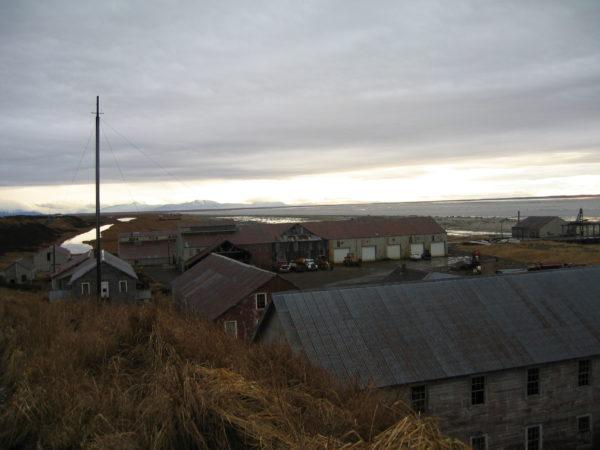 The village of Pilot Station