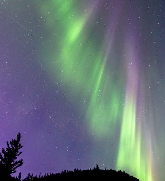 The Aurora Above Chugach State Park