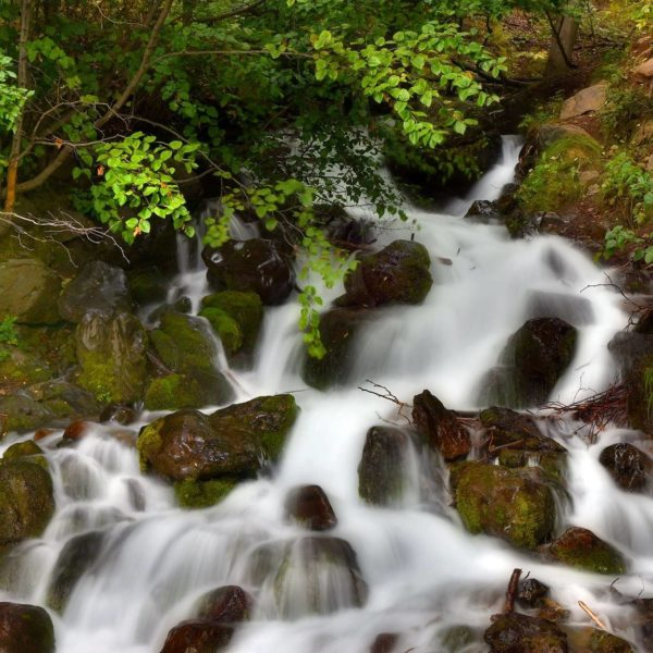 A Waterfall in Chugach State Park