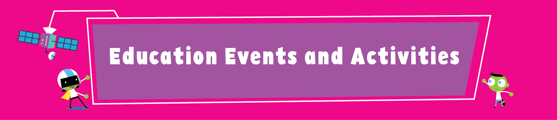 Education Events header