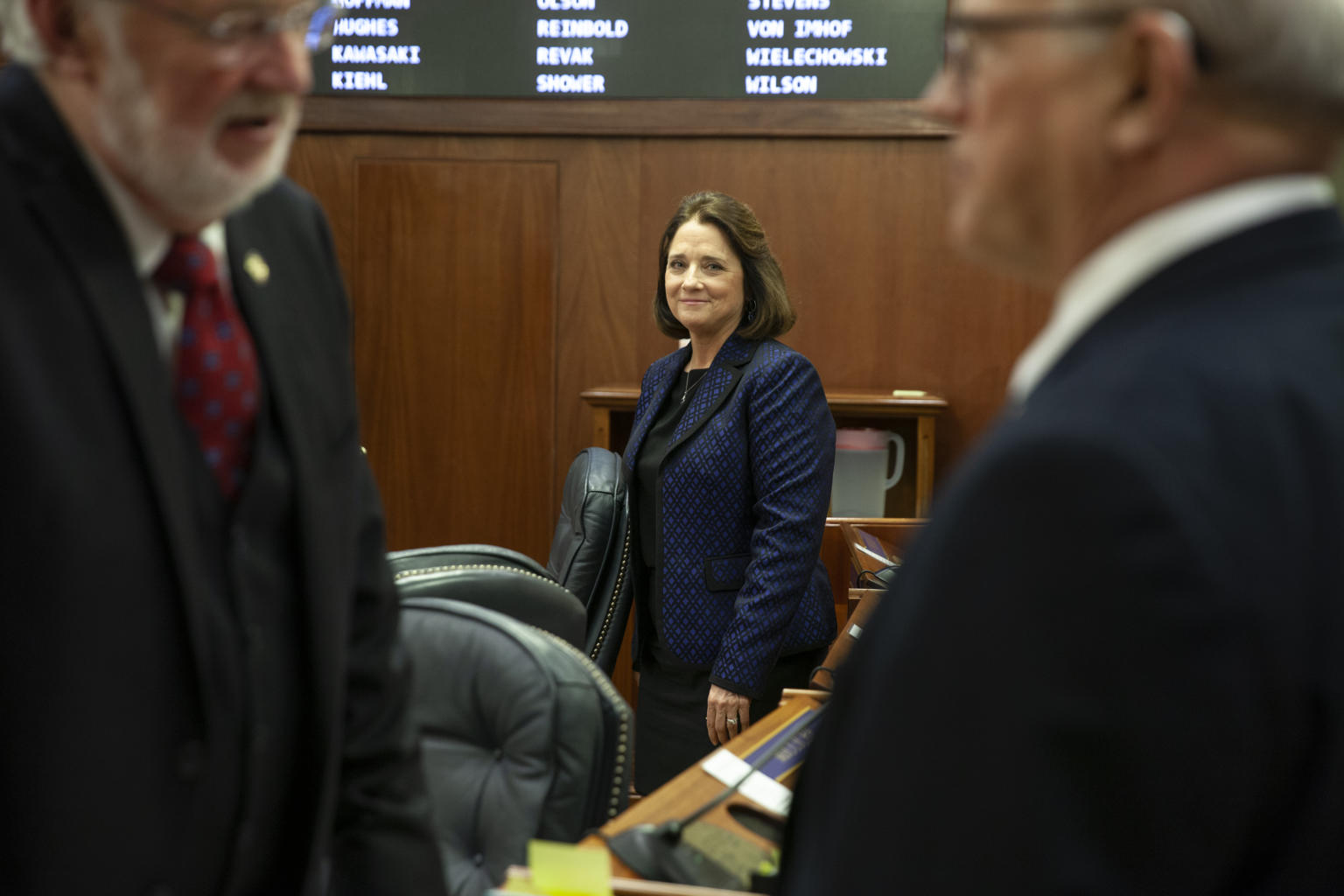 Senate votes to remove Reinbold as chair of Judiciary Committee - Alaska Public Media