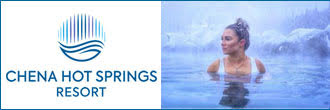 Chena Hot Springs banner ad