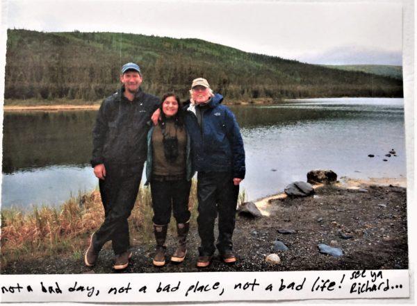 Richard Nelson at Lake Minichumina