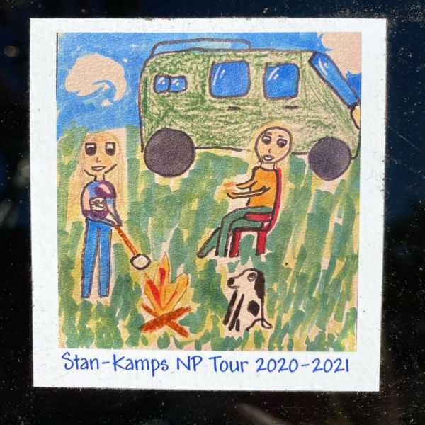 Sticker designed by Tui Stanbury