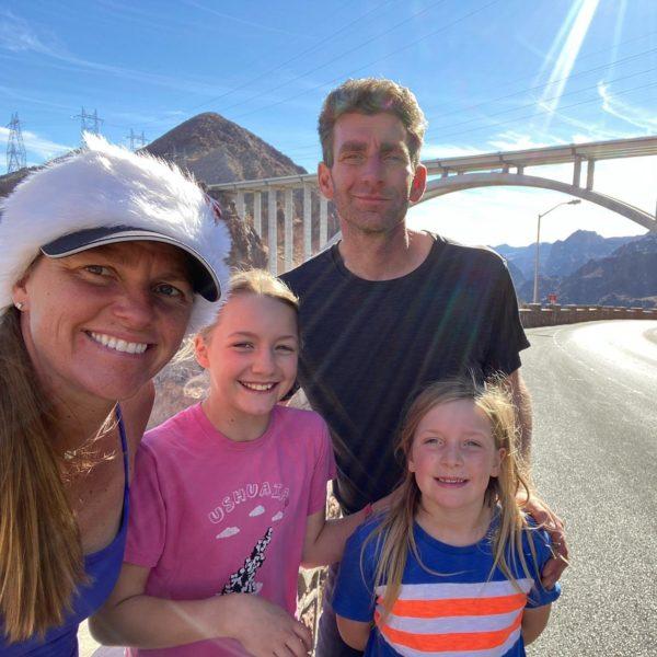 The Nevada-Arizona State Border