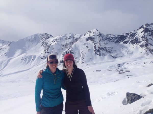 Emma Walker in Hatcher Pass