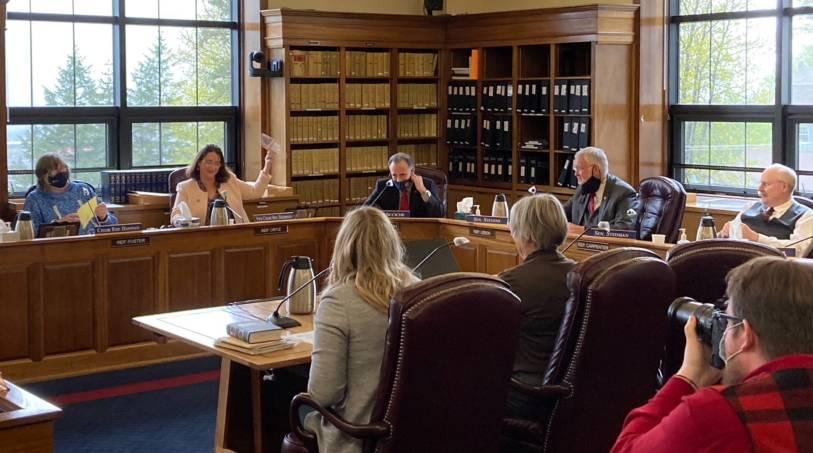 Alaska legislators end face mask mandate in Capitol - Alaska Public Media