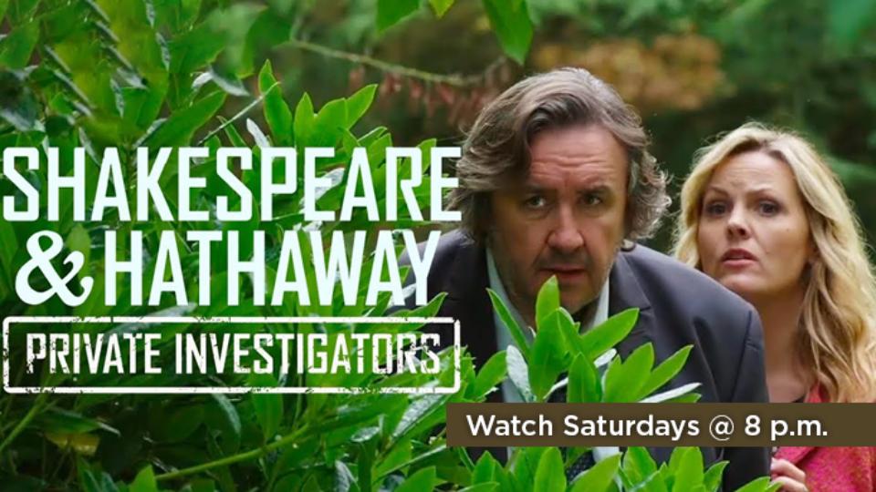 Watch Shakespeare and Hathaway Saturdays at 8 p.m. on Alaska Public Media TV.