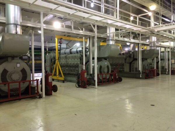 Generators in a room