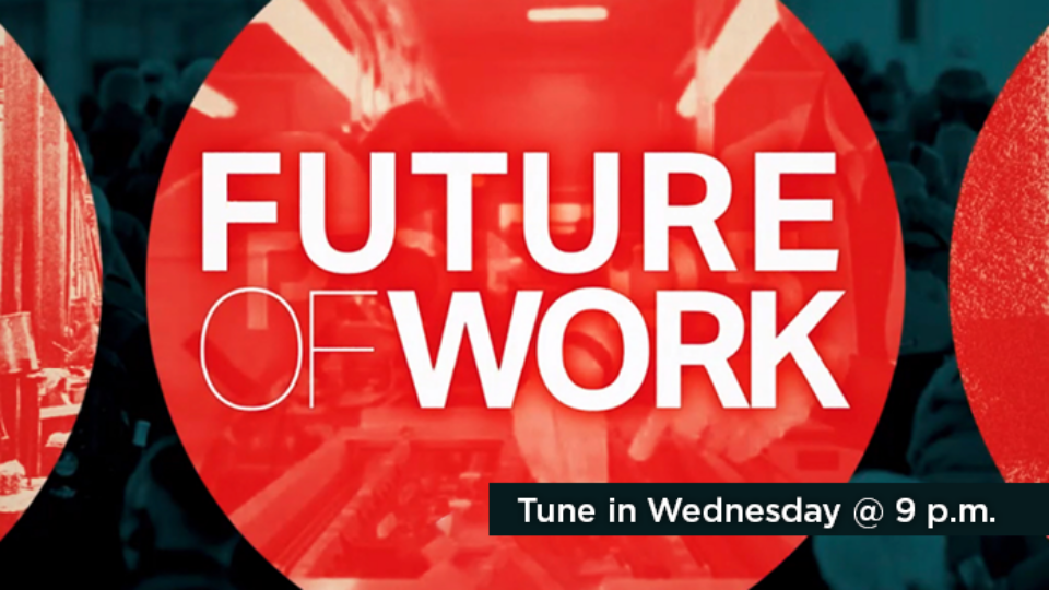 Tune in to Future of Work Wednesday at 9 p.m. on Alaska Public Media TV.