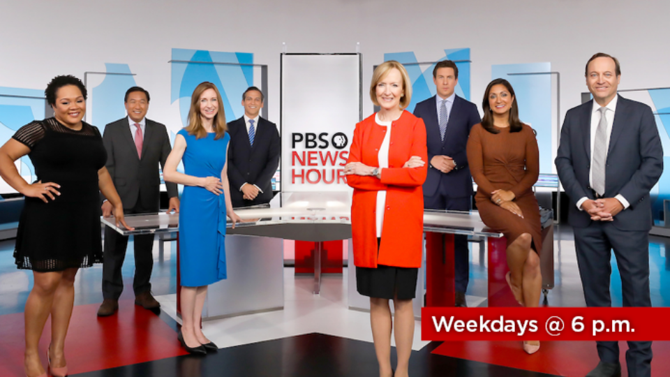 Watch PBS Newshour Weekdays at 6 p.m. on Alaska Public Media TV or stream episodes for free on PBS Video.