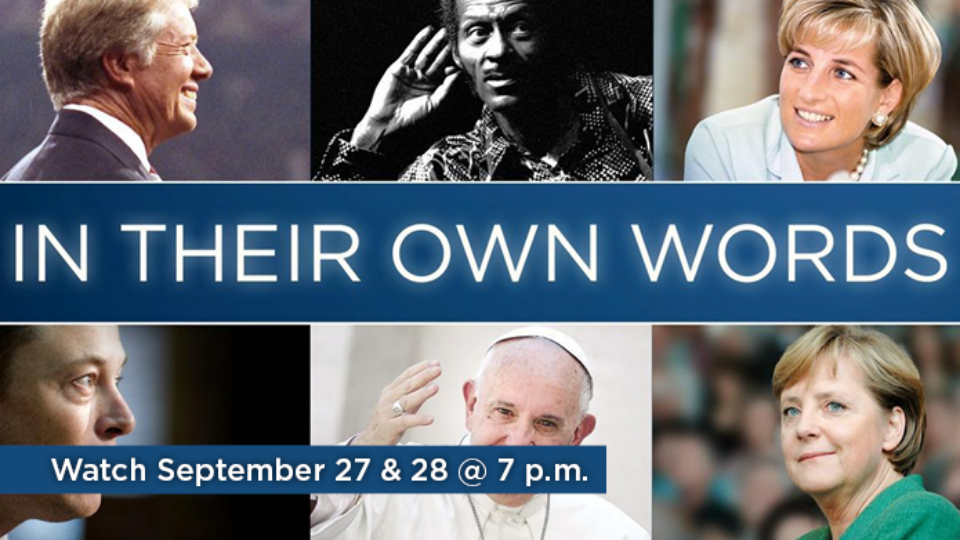 Watch In Their Own Words September 27 & 28 at 7 p.m. on Alaska Public Media TV.